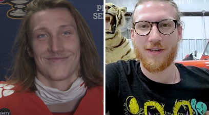 Trevor Lawrence's Brother is His Artist Look-A-Like
