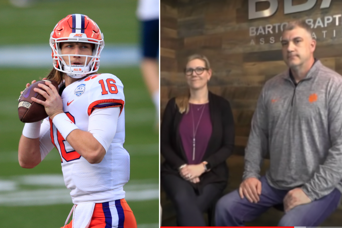 Trevor Lawrence's Parents Are His Biggest Fans