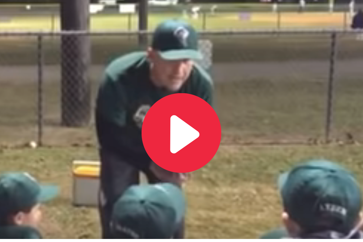 """Little League Coach Tells Kids """"Make The Other Players Cry"""" in Viral Speech"""
