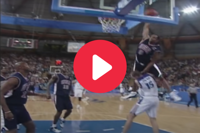 "Vince Carter's ""Dunk of Death"" Over a 7-Footer Became Olympic Glory"