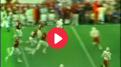 Johnny Rodgers' Punt Return TD is an Iconic College Football Moment