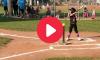 5 Year old softball star
