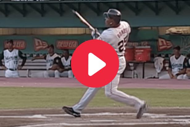 Barry Bonds' Broken Bat HR Showed Off His Pure Muscle