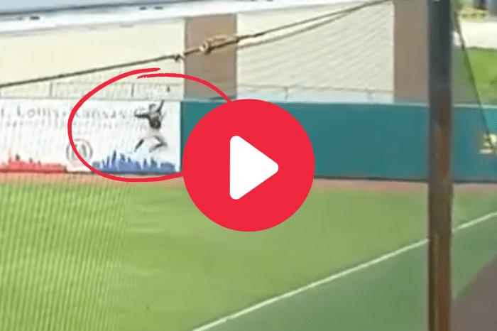 Bryson Ware's Home Run-Robbing Catch Dropped Auburn Jaws