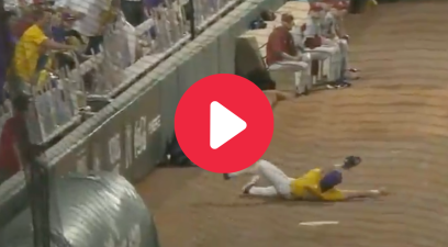 Cade Doughty's Sliding Overhead Catch Made LSU Fans Go Berserk