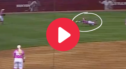 "Elissa Brown's ""Roll Slide"" Catch Made Alabama Fans Go Nuts"