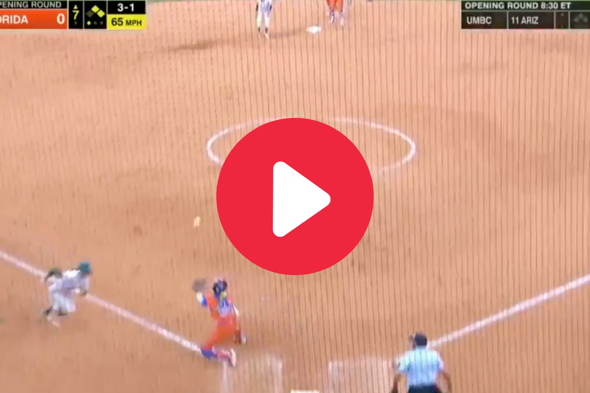 Cheyenne Lindsey's Cannon Throw Ignited Florida's Clutch Double Play