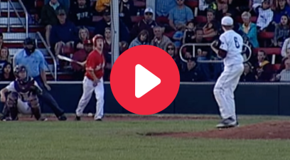 HS Baseball Player Fouls Ball Off Crotch, Gives Hilarious Reaction