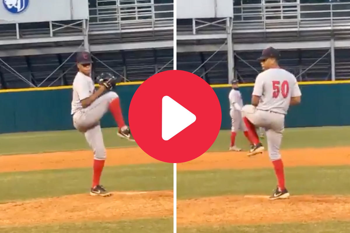"""High School """"Switch Pitcher"""" is Taking the Internet By Storm"""