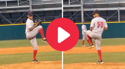 "High School ""Switch Pitcher"" is Taking the Internet By Storm"