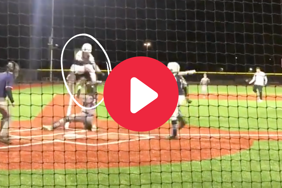 12-Year-Old Hurdles Catcher for Game-Winning Run