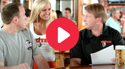 "Jon Gruden's Classic ""Hooters"" Commercials Are Still A Treat"