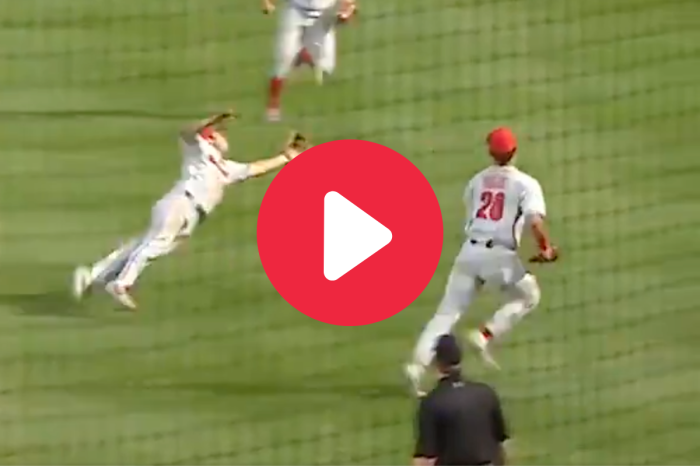Georgia Infielder's Diving Catch Blew Everyone Away