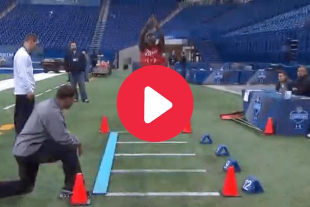 Julio Jones' NFL Combine Proved He's An Athletic Freak
