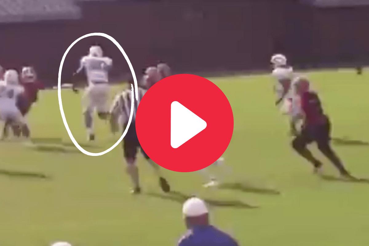 8th-Grader Goes Viral for 6-Foot-5 Frame & Hard Hits