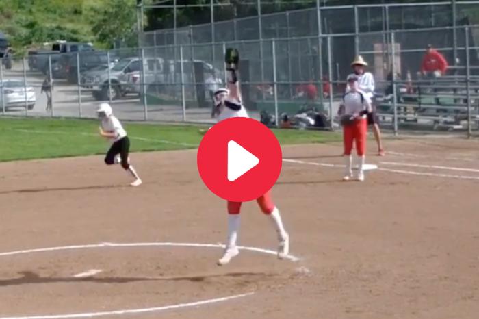 Softball Pitcher's Cat-Like Reflexes Made Her an Internet Sensation