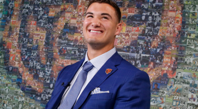 Mitch Trubisky Found His Soulmate With a Private Pilates Instructor