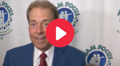 Nick Saban's Response to Jimbo Fisher's Trash Talk Cracked Everyone Up