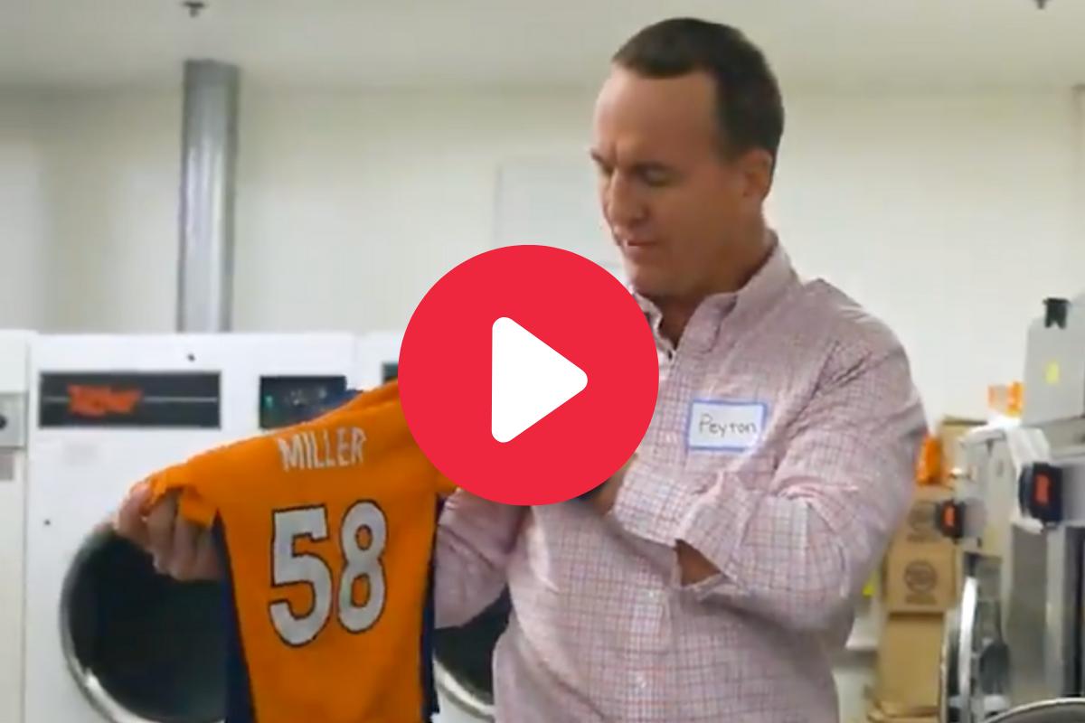 """Peyton Manning Hilariously Returns to Broncos as """"Summer Intern"""""""