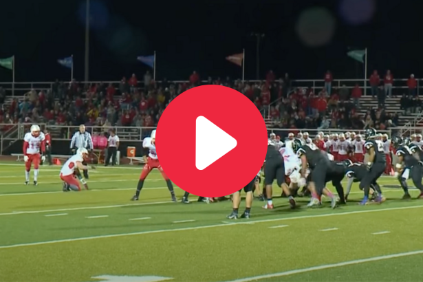 Vicious Wind Stops HS Field Goal Attempt Yards Short