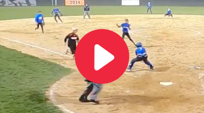 HS Softball Team Pulls Off Game-Saving Triple Play