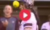 Tori Vidales Foul Ball