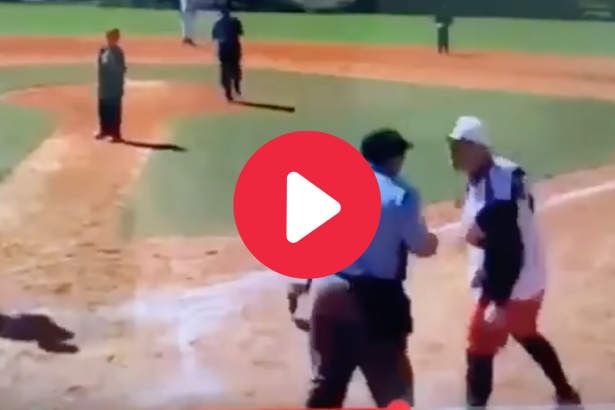 Umpire Ejects Mouthy Kid & Coach Loses His Mind
