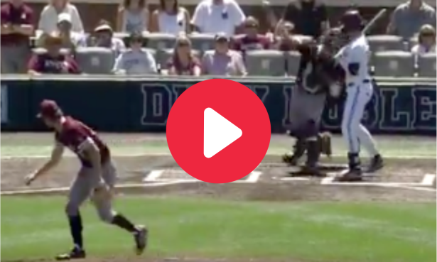 Texas A&M Catcher Throws Out Runners in Consecutive Innings
