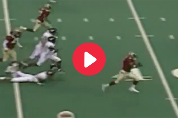 Peter Warrick's 59-Yard Punt Return Made For National Championship Glory