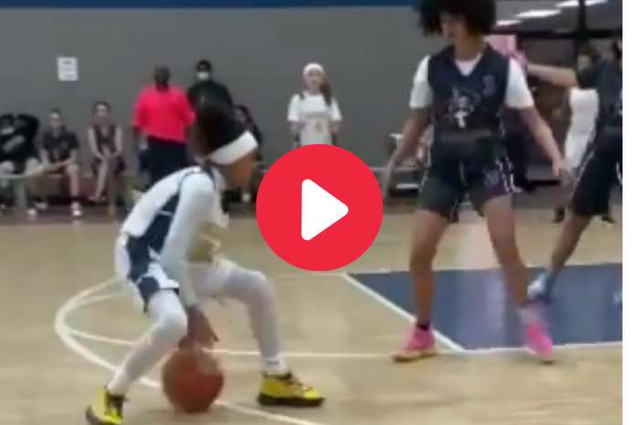 10-Year-Old Girl is Tearing Up Varsity Basketball & Has NBA Dreams
