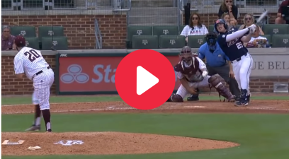 Ole Miss Slugger Smashes Home Run With Torn ACL