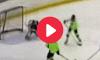 12-Year-Old Hockey Goal