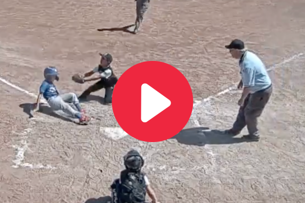 8-Year-Old's Diving Double Play Made Him a National Sensation