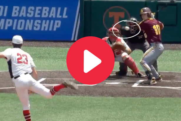 Ball Gets Stuck in Umpire's Front Pocket & Allows Run to Score