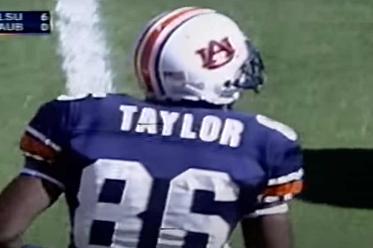 Courtney Taylor Set Receiving Records at Auburn, But Where is He Now?