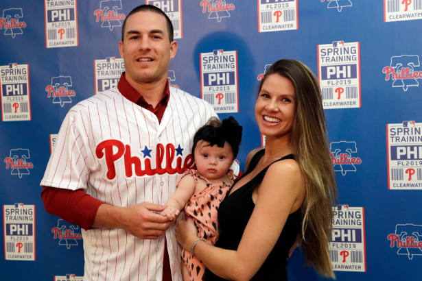 Who is J.T. Realmuto's Wife?