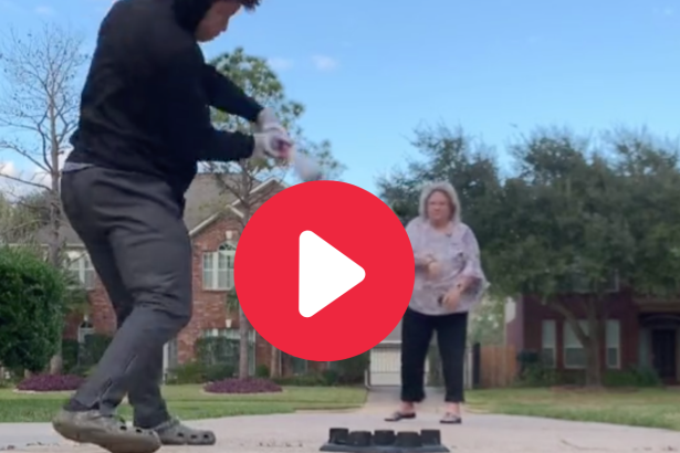 Son Hits Mom With Line Drive in Hilarious Viral Video