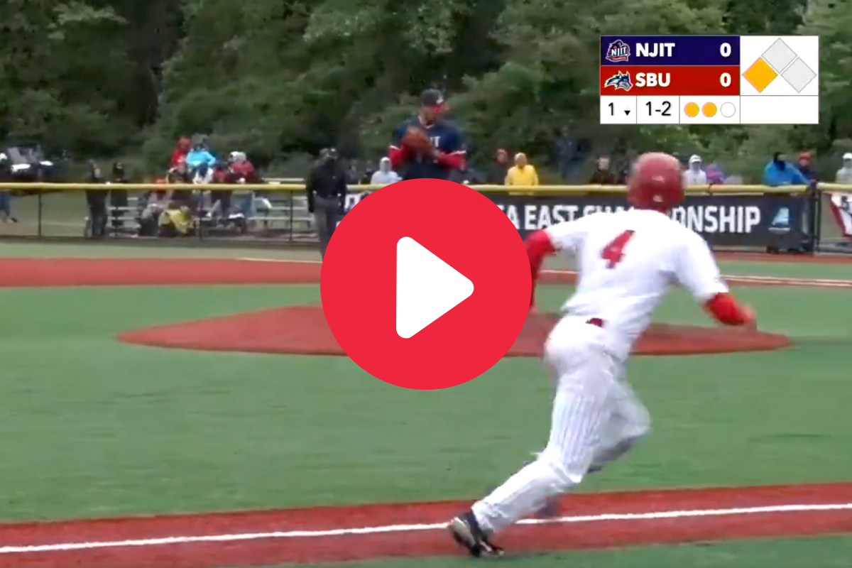 Daring Runner Steals Home When He Catches Pitcher Snoozing