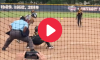 Line Drive Softball Pitcher