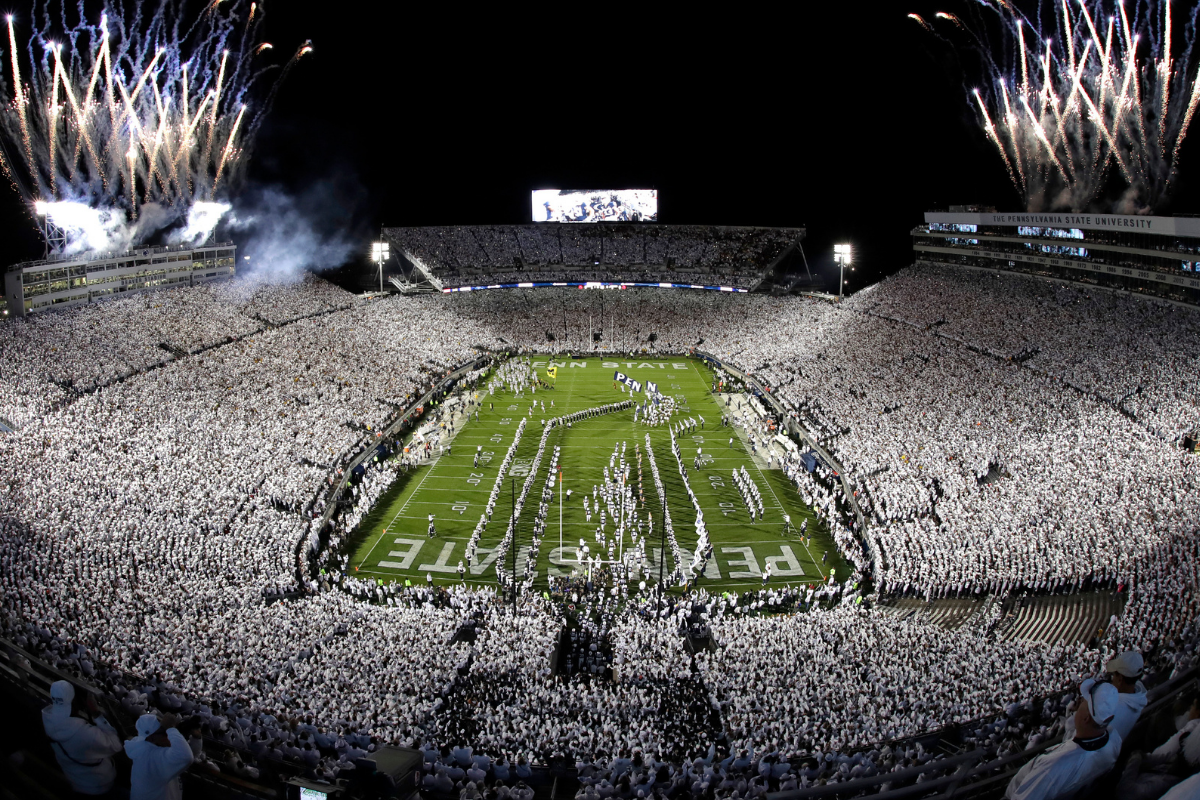 The 10 Loudest College Football Stadiums Can Be Heard for Miles