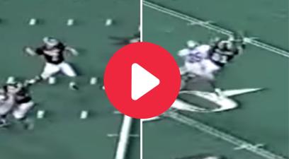 Matt Bumgardner's 36-Yard Catch Set Up Sirr Parker's Heroics