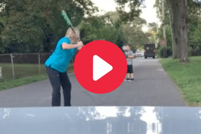 Mom Blasts Home Run Off Son & Becomes Viral Sensation