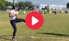 Softball Player Viral Bat