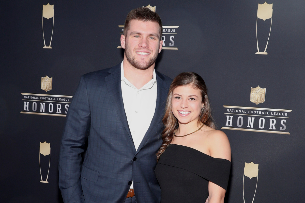 T.J. Watt's Girlfriend Was Teammates With His Brother's Wife