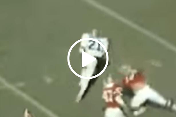 James Brooks' 67-Yard TD Run Spoiled Georgia's SEC Title