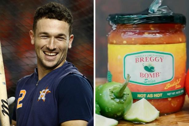 Alex Bregman Has His Own Salsa, And It's a Home Run