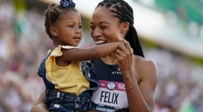 Allyson Felix Married a Fellow Track Star & Started a Family