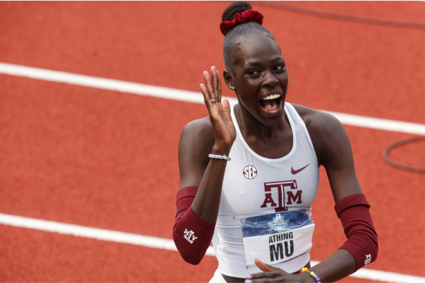 Athing Mu Dominated at Texas A&M. Now, She's Got Olympic Gold in Her Sights