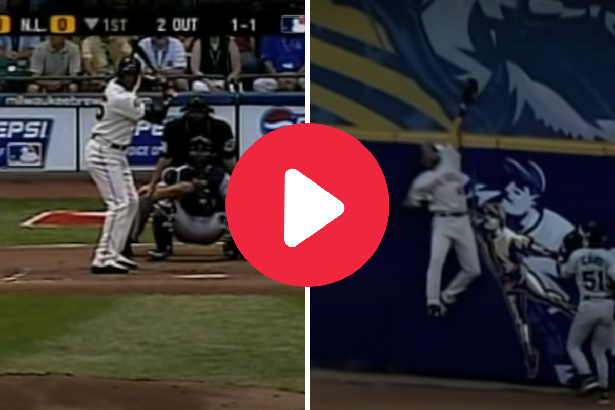 Torii Hunter Robbing Barry Bonds in the All-Star Game Remains Awesome