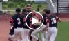 Baseball team pit crew